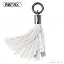 Remax Tassels Ring Lightning Kabel weiß